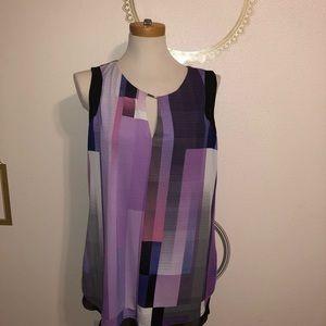 Worthington lavender blouse